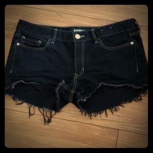 Express shortie relaxed low rise